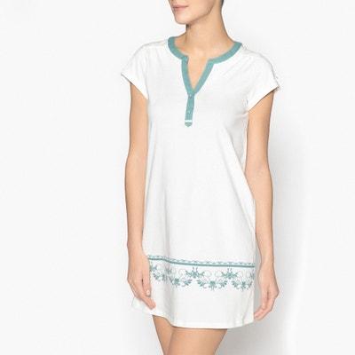 Camisa de dormir, puro algodão Camisa de dormir, puro algodão La Redoute Collections