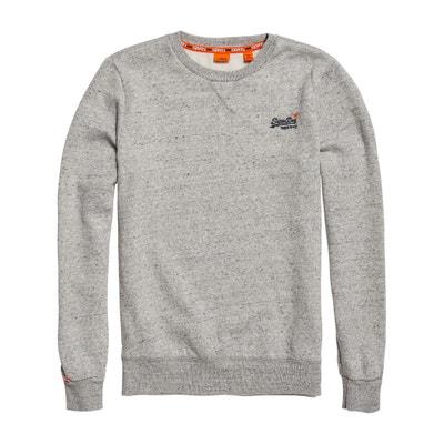 Sweater met ronde hals, ORANGE LABEL Sweater met ronde hals, ORANGE LABEL SUPERDRY