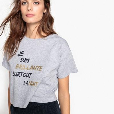 Tee-shirt à message pour les fêtes La Redoute Collections