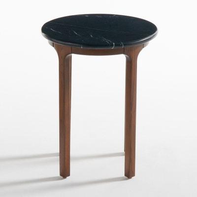 Tavolino rotondo, piano in marmo, Botello Tavolino rotondo, piano in marmo, Botello La Redoute Interieurs