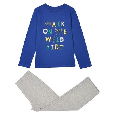 Pijama bicolor em algodão (2-12 anos) Pijama bicolor em algodão (2-12 anos) La Redoute Collections