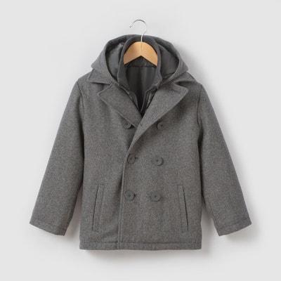 Gabán paño de lana 3-12 años La Redoute Collections