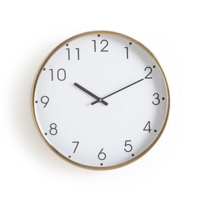 Image D Une Horloge horloge - horloge murale, design en solde | la redoute
