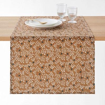 Chemin de table imprimé coton/lin LONIE Chemin de table imprimé coton/lin LONIE LA REDOUTE INTERIEURS