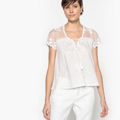 Plain Short-Sleeved V-Neck T-Shirt KAPORAL 5