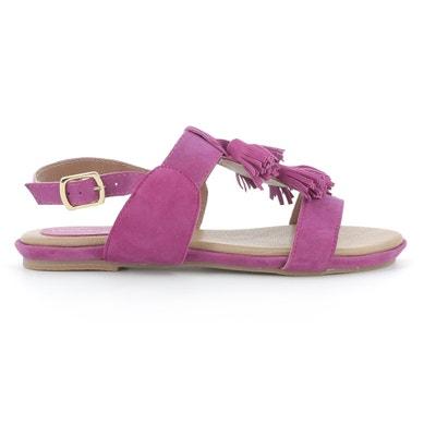 Gandy Velour Sandals HUSH PUPPIES