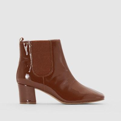 Boots vernis à talon MADEMOISELLE R