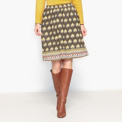 f9eab185998 Printed Draping Skirt Printed Draping Skirt ANNE WEYBURN