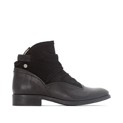 Hyria Leather Ankle Boots Hyria Leather Ankle Boots DKODE