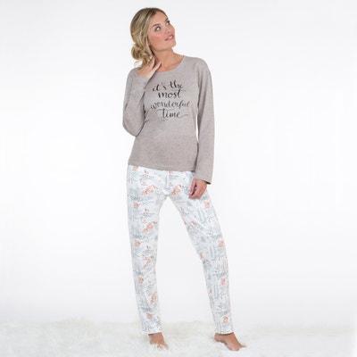 Pyjama mit Eichhörnchen-Print Pyjama mit Eichhörnchen-Print DODO