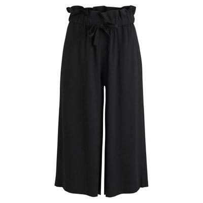 Loose Fit Wide Leg Trousers VILA