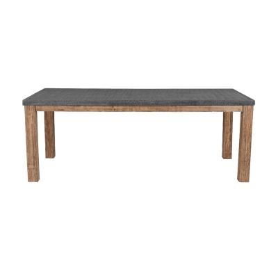 Table rectangulaire Stromboli Lavastone 180 cm Table rectangulaire Stromboli Lavastone 180 cm RENDEZ VOUS DECO