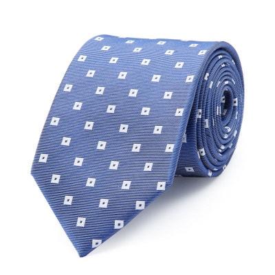 a9411a9e9bf8 Cravate en pure soie à motifs carrés BRUCE FIELD