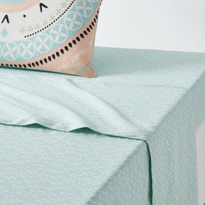 Tarjani Printed Cotton Sheet La Redoute Interieurs