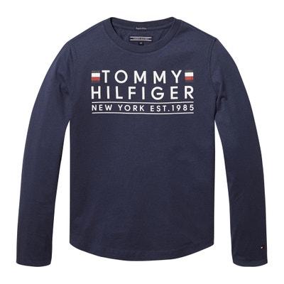 Camisola em algodão biológico, 12 – 16 anos Camisola em algodão biológico, 12 – 16 anos TOMMY HILFIGER