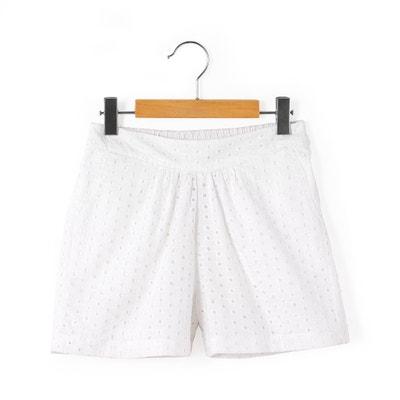 Shorts, Lochstickerei, 2-12 Jahre Shorts, Lochstickerei, 2-12 Jahre La Redoute Collections