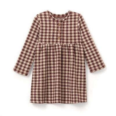 Kariertes Kleid, 1 Monat - 3 Jahre La Redoute Collections