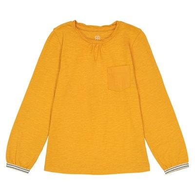 T-shirt maniche lunghe dettagli brillanti 3 - 12 anni T-shirt maniche lunghe dettagli brillanti 3 - 12 anni La Redoute Collections