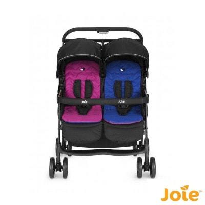 Poussette Aire Twin rose et bleu - Joie Poussette Aire Twin rose et bleu - Joie JOIE