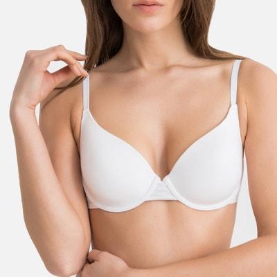 c7b860743f2 Cotton push-up bra La Redoute Collections | La Redoute