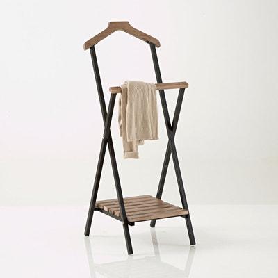 portant valet de chambre la redoute. Black Bedroom Furniture Sets. Home Design Ideas