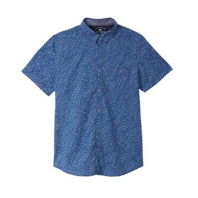 Wzorzysta prosta koszula z krótkim rękawem Wzorzysta prosta koszula z krótkim rękawem TOM TAILOR