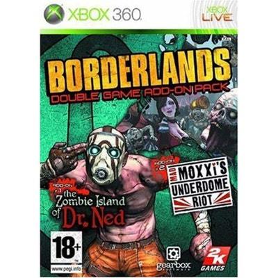Borderlands - Coffret double extension XBOX 360 Borderlands - Coffret double extension XBOX 360 2K