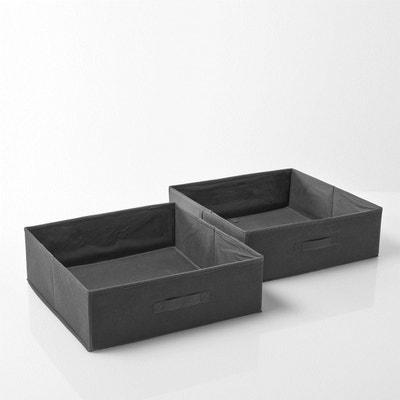 Składany kosz do przechowywania Build (zestaw 2 sztuki) Składany kosz do przechowywania Build (zestaw 2 sztuki) La Redoute Interieurs