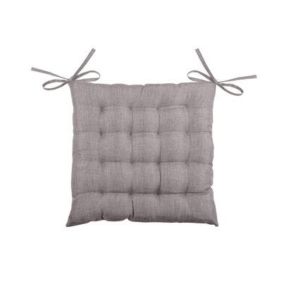 galette de chaise unie en 16 points galette de chaise unie en 16 points home maison - Coussin De Chaise 40x40
