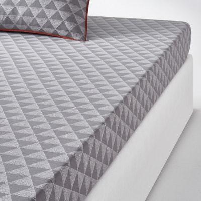 Lenzuolo con angoli, color grigio, Issor Lenzuolo con angoli, color grigio, Issor La Redoute Interieurs