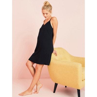 6efceb4c0c970 Nuisette détail dentelle grossesse et allaitement Nuisette détail dentelle  grossesse et allaitement VERTBAUDET