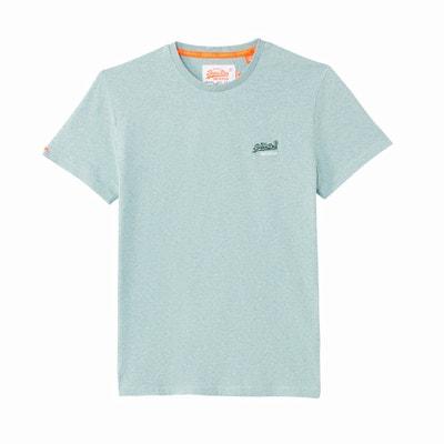 T-shirt de gola redonda e mangas curtas T-shirt de gola redonda e mangas curtas SUPERDRY