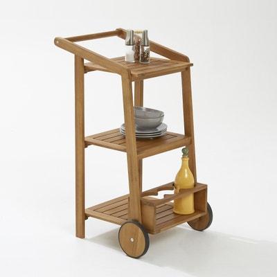 Servierwagen, kleine, Räder, 3 Ebenen, Flaschenfach Servierwagen, kleine, Räder, 3 Ebenen, Flaschenfach La Redoute Interieurs
