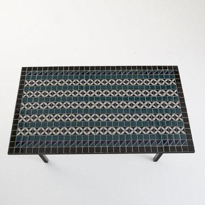 Table de salle à manger plateau céramique artisanal, 6 couverts, Quérida Table de salle à manger plateau céramique artisanal, 6 couverts, Quérida La Redoute Interieurs