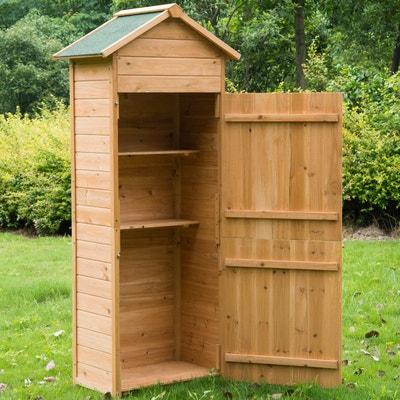 Armoire de jardin en bois Armoire de jardin en bois HOMCOM