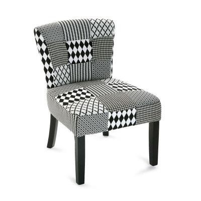 Fauteuil chaise en tissu patchwork URBAN PIER IMPORT