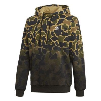 f2e300733d432 Sweat-shirt à capuche Camouflage adidas Originals