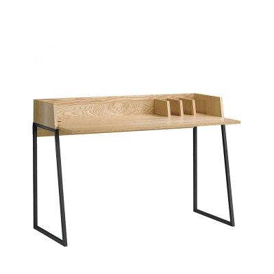 Bureau design bois et métal Boden DRAWER