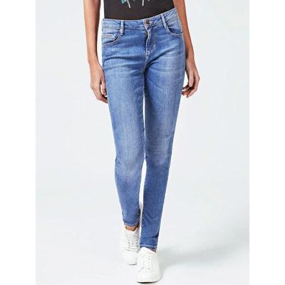 663373b7eefbb Jean skinny taille haute en solde   La Redoute