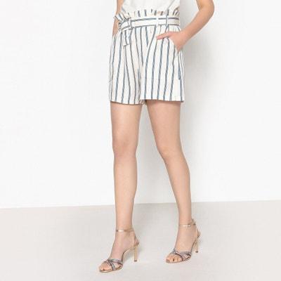 Gestreifte Shorts BALMVILLE mit hohem Bund Gestreifte Shorts BALMVILLE mit hohem Bund SAMSOE AND SAMSOE