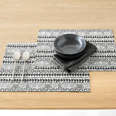 Tiebele Set of 2 Tablemats La Redoute Interieurs