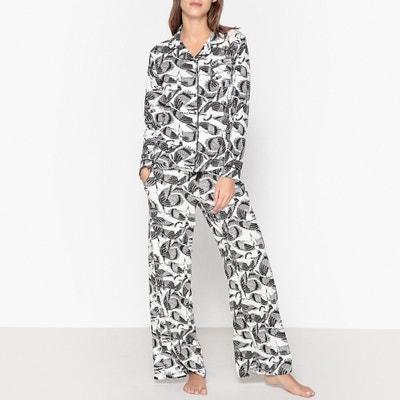 Pijama com estampado pássaros Pijama com estampado pássaros HECHTER STUDIO
