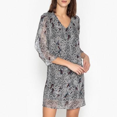 Bedrucktes Kleid, Python-Optik Bedrucktes Kleid, Python-Optik IKKS