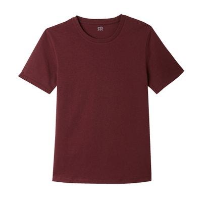 T-shirt THEO de gola redonda, em algodão T-shirt THEO de gola redonda, em algodão La Redoute Collections
