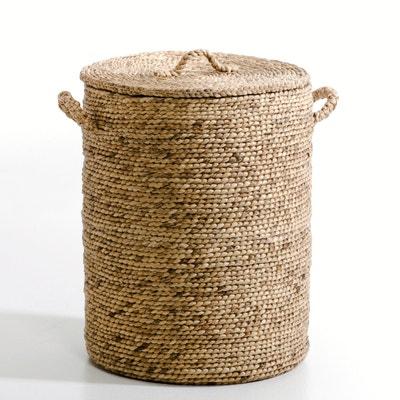 Liane Round Water Hyacinth Basket, Height 60cm AM.PM.