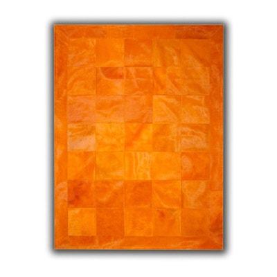 Tapis orange en solde   La Redoute