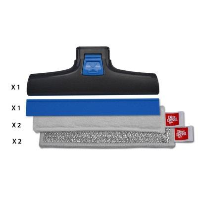 Pack de 6 accessoires 17 cm pour nettoyeur à vitre Pack de 6 accessoires 17 cm pour nettoyeur à vitre DIRT DEVIL