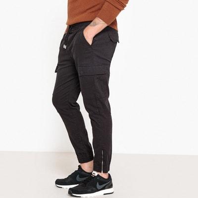 Pantalón jogpant estilo cargo con cintura elástica Pantalón jogpant estilo cargo con cintura elástica La Redoute Collections
