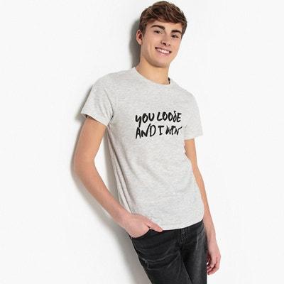 27686fb5f2f0c T-shirt imprimé 10-16 ans T-shirt imprimé 10-16 ans. LA REDOUTE COLLECTIONS