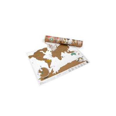 Carte Du Monde Gratter Mini Scratch Map